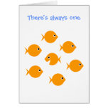 "Cute Inspirational ""Always One"" Cartoon Greeting Cards"