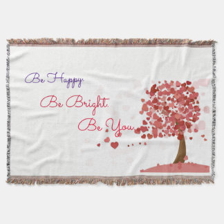 Cute Inspirational Saying Blankets
