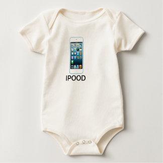 Cute Ipood Infant Apparel Rompers
