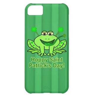 Cute Irish Saint Patrick's Day Frog Case For iPhone 5C