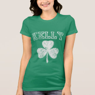 Cute Irish Shamrock Kelly t shirt