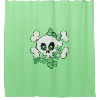 Cute Irish Skull