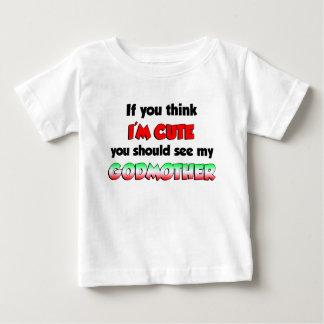 Cute Italian Godmother Baby T-Shirt