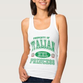 Cute Italian Princess Tank Top