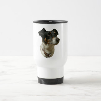 Cute Jack Russell Dog Travel Mug