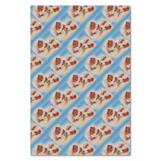 CUTE Jack Russell terriers illustration Tissue Paper