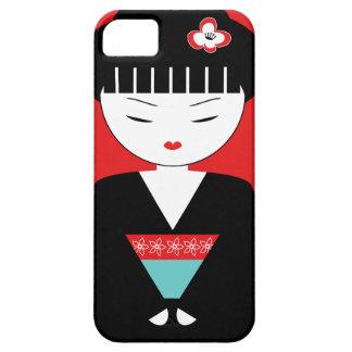 Cute Japanese Geisha Girl iPhone 5/5S Case