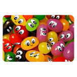 Cute Jelly Bean Smileys Magnets