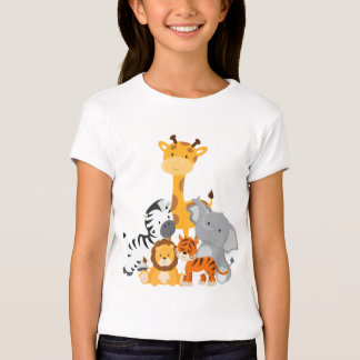 Cute Jungle Baby Animal T-Shirt