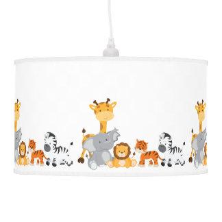 Cute Jungle Baby Animals Pendant Lamps