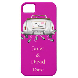 CUTE JUST MARRIED IPHONE 5 CASE