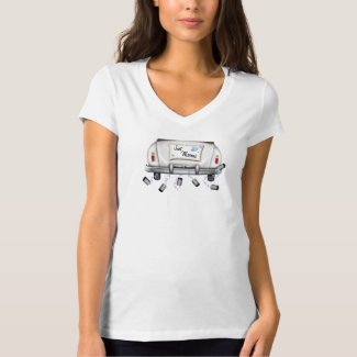 CUTE JUST MARRIED T SHIRT