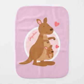 Cute Kangaroo Baby Joey Burp Cloth