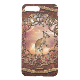 Cute kangaroo with baby iPhone 7 plus case