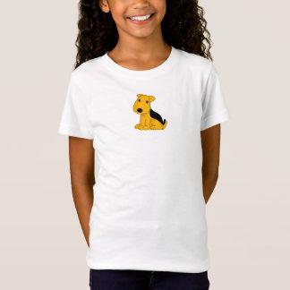 Cute Kawaii Airedale Terrier Puppy Dog Shirt