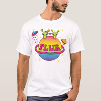 Cute Kawaii Aliens Plur T-Shirt