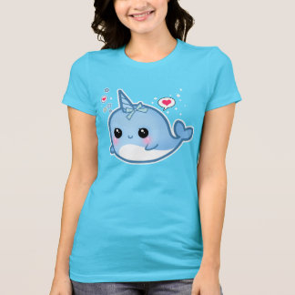 Cute kawaii baby narwhal T-Shirt