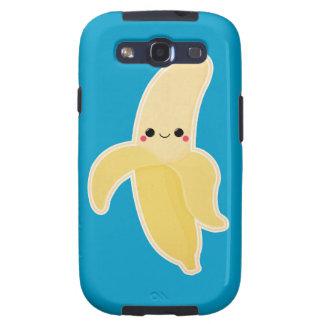 Cute Kawaii Banana Galaxy SIII Case