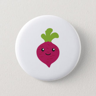 Cute Kawaii Beet 2 Inch Round Button