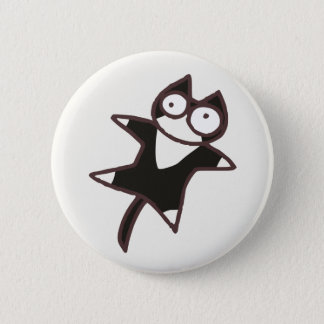 Cute Kawaii Bicolor cat {Lots of Cats} 2 Inch Round Button