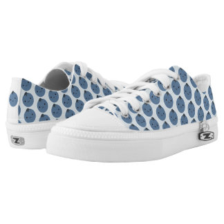 Cute Kawaii Blueberries Low-Top Sneakers