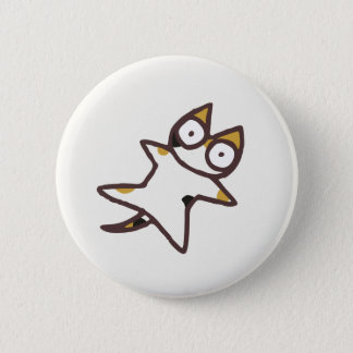 Cute Kawaii Calico Cat {Lots of Cats} 2 Inch Round Button
