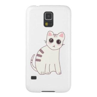 Cute Kawaii Cat Illustration Galaxy S5 Case