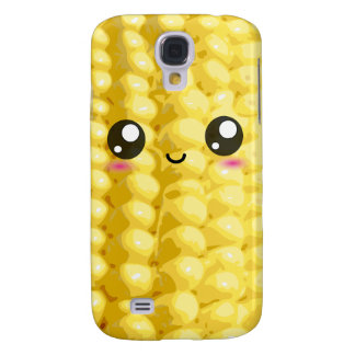 Cute Kawaii Corn on the Cob Galaxy S4 Cases