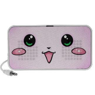 cute kawaii -doodle iPhone speaker