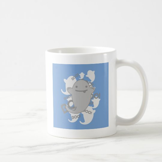 Cute Kawaii Ghost Coffee Mug