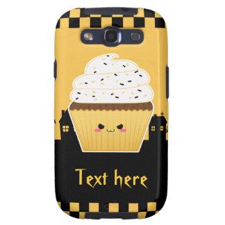 Cute Kawaii Halloween cupcake Galaxy SIII Case