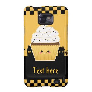 Cute Kawaii Halloween cupcake Samsung Galaxy SII Case