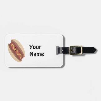 Cute Kawaii Hot Dog Bag Tag