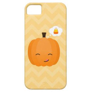Cute Kawaii Jack o'Lantern and Candy Corn iPhone 5 Covers
