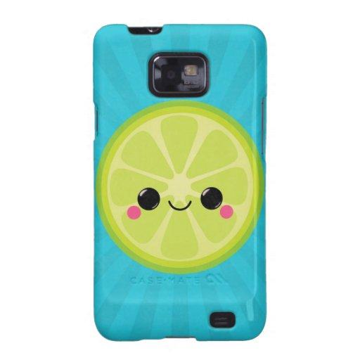 Cute Kawaii Lime Samsung Galaxy S2 Covers