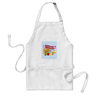Cute Kawaii Lunch Bunch Standard Apron