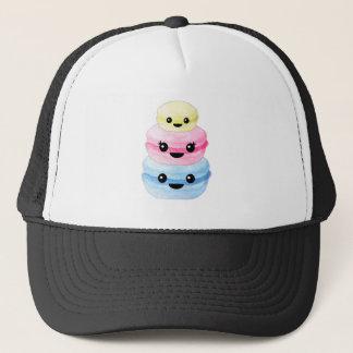 Cute Kawaii Macaron Stack Trucker Hat