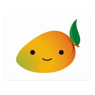 Cute Kawaii Mango Postcard