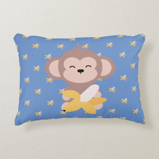 Cute Kawaii Monkey with Banana Pillow