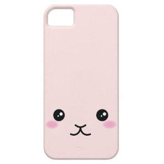 Cute, kawaii, pink bunny design iPhone 5 cases