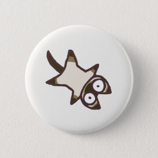 Cute Kawaii Pointed Cat {Lots of Cats} 2 Inch Round Button