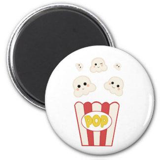 Cute Kawaii Popcorn Magnet