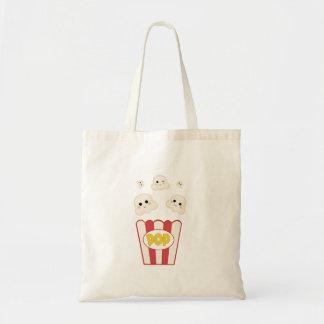 Cute Kawaii Popcorn Tote Bag