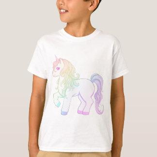 Cute kawaii rainbow colored unicorn pony T-Shirt