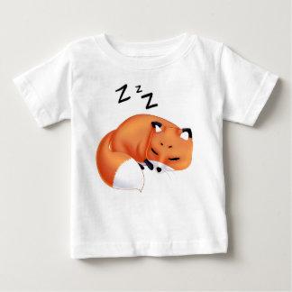 Cute Kawaii Sleeping cartoon fox T-shirts