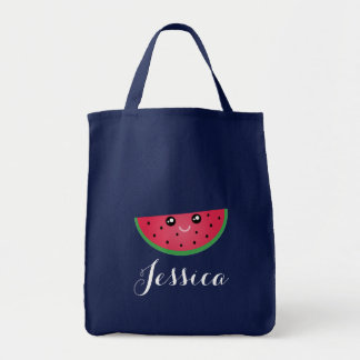 Cute Kawaii Smiling Watermelon Manga Cartoon Emoji