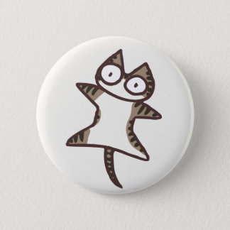 Cute Kawaii Tabby Cat {Lots of Cats} 2 Inch Round Button