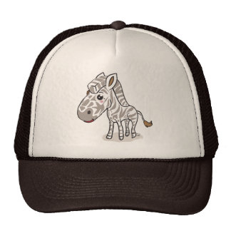 Cute Kawaii Zebra hat