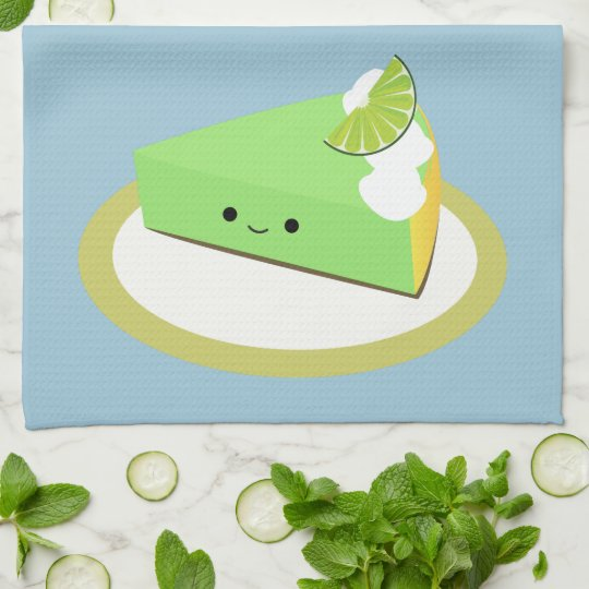 Cute Key Lime Pie Kitchen Towels