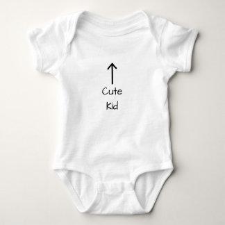 Cute Kid Up Arrow for Baby Baby Bodysuit